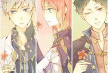 shirayuki and zen (izana)......../ yona............