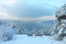 İstanbul'da kar var ❄️☃️