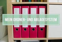 Ordner Ablage system