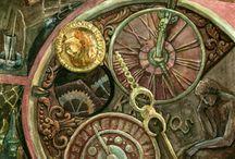 Old clocks / Hodiny
