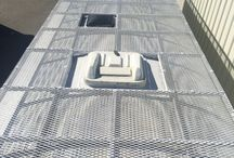 Bus roof