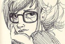 caracter sketch