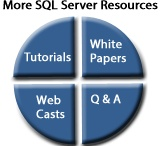 SQL Server Tools / At MSSQLTips we offer a Tutorials, Whitepapers, Webcasts and a variety of SQL Server Products and Tools.