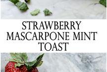 Food Bloggers' Breakfast (Toast) Recipes