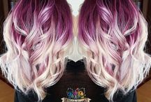 funky hair colour