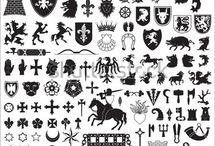 Emblems and shields