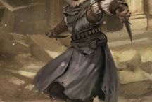RPG - Rogues / RPG - Roleplaying Game Concepts of rogues, thiefs and assassins.