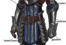 Clothing and armor