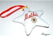Noël / décoration de Noël, des cadeaux personnalisées pour toutes la famille.