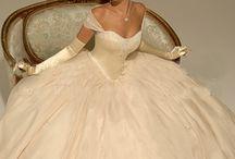 공주 웨딩 드레스