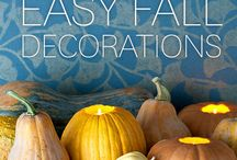FALL THEME / Fall decorations  / by Colleen Wells