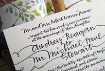 collection // lovely lettering