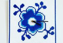 blåå blomst-mussel-