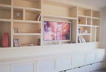 Wall unit  - Lounge