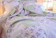 mint & lavender bedroom