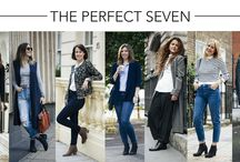 The Perfect Seven - UK / Seven of the UK's top fashion influencers talk Autumn/Winter 2015 and their style picks from the Seven Boot Lane collection in this street style photo shoot. http://bit.ly/ThePerfectSeven