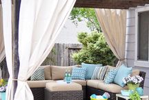 lovable patio chill spots / by Jeanene Gossack
