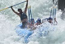 Whitewater Rafting / What it looks like when you go whitewater river rafting