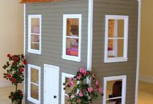 Play house / doll house / by Ginger Lobb