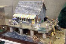 Dollhouse-Miniature-Beach house
