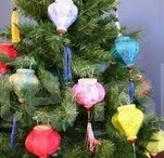 Christmas Decorations & Lights / Festive decoration ideas, tree lights and party accessories for Christmas, Winter and the New Year.