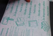 PRINTING ON CONTACT PAPER