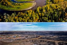 Non-Sustainable: Tar Sand Oil / Fossil Fuels