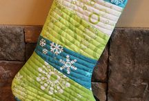 Quilting - Christmas Stockings