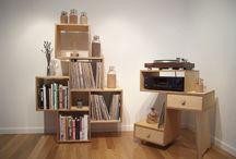 LP Vinyl Record Storage