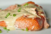 fish and mainly salmon recipes / by Maureen Salvador