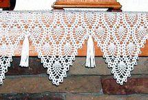 Mantle scarves