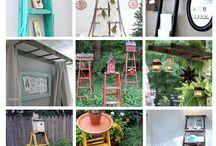 repurposed items / by Debby Timson