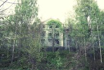 Creepy/Abandoned buildings