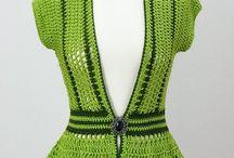 Chalecos adultos a crochet. / by Creaciones Lucyta