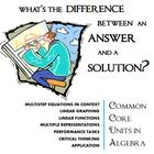School - Algebra / by Carol Gafney