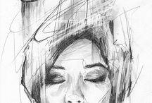 Disegni, sketchs,