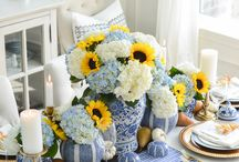 Home Decor: Tablescapes / Table top decor and Tablescapes for all occasions