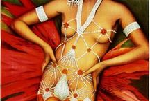Erte v Josephine Baker v Nature / Body Art Photographic Shoot