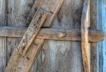 latches patched wood