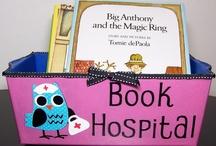 knižky v nemocnic / Kam s knižkami, ak doma prišlo k úrazu