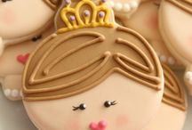 Princesses / cakes, cookies & tutorials ideas