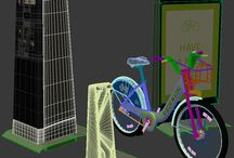 BIXI Nice Ride Minneapolis 3D Model
