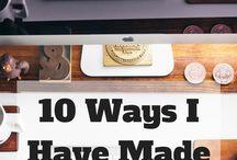 money making by blogging