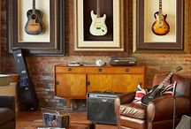Music Rooms & Home Recording Studios / by Michelle Sandlin