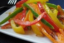 Food - Vegetables, Salads, and Sides / most side dishes and salads / by Dawn Anastos