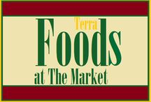 Healthy Foods / Only at The Market at Liberty Place...Focusing on local and organic goods, Terra Foods will provide the Kennett Square community with the absolute freshest in produce, dairy, and general grocery products. For your everyday grocer needs, be sure to check out Terra Foods!