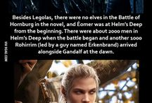 LOTR and TH facts