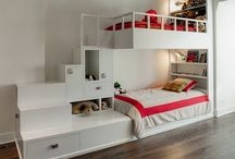 bunks with stairs