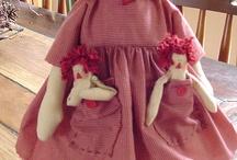 Annie dolls / by Mirene Kazue Haga Saab