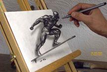 3 D rajzok